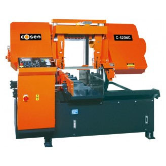 C-420NC - SNC Automatic Saw with Shuttle Vise